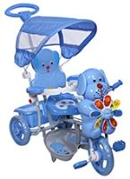 Buy Mee Mee Baby Tricycle with Canopy - Blue