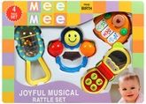 Mee Mee Joyful Musical Rattle Set - Set Of 4