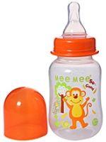 Mee Mee Printed Feeding Bottle Orange 125 ml