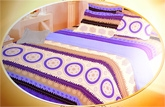 Bombay Dyeing Silk Route Double Bed Sheet -  4255B