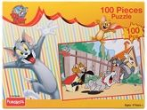 Tom & Jerry 100 Piece Puzzle 4 Years +, 100 Pieces, Fabulous Puzzle For Kids