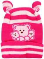 Woollen Cap - Bear Design