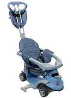 Smartrike - Grey All In One Step 3 - 6 Months To 4 Years