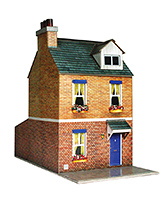 The City Builder Row House Model Making Kit