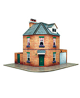 The CityBuilder - Corner Row House Kit