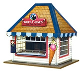 The CityBuilder Ice Cream Stall Kit