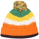 Woollen Cap - Multi Color Stripes