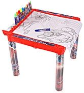Spiderman 4 Coloring Table