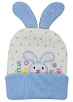 Woollen Cap - Rabbit Design