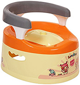 Fab N Funky Cream Potty Seat