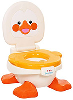Fab N Funky Baby Potty Duck Shape Yellow