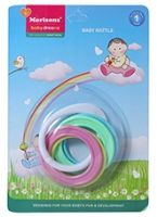 Buy Morisons - Baby Dreams Baby Rattle Rings