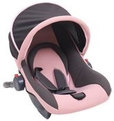Fab N Funky - Carry Cot Cum Car Seat With Adjustable Canopy