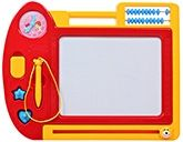Fab N Funky Drawing & Writing Board - Red