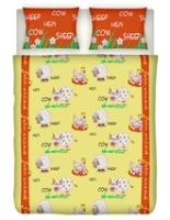 Splash Frolic Kids Double Bed Sheet
