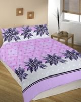 Splash Symphony Double Bed Sheet