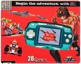 ME K - 28 Handheld Gaming Console 28 Fun Games for kids
