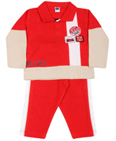 Teddy - Full Sleeves T-Shirt Suit