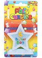 Buy Birthday Candles - 6
