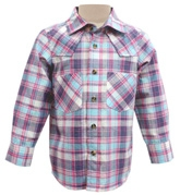 Campana - Full Sleeves Checks Shirt With Stylized Yoke