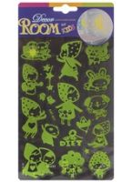 Glow In The Dark Room Decor Sticker Gives Cute Look To Your Kids Room!