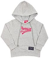 Gray Hooded Sweat Shirt