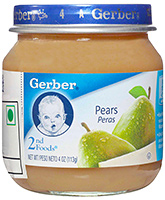 Gerber  - Pear 4 Ounce Jar