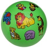 Animals Print Baby Ball - Green
