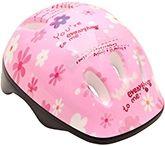 Flower Print Helmet - Pink