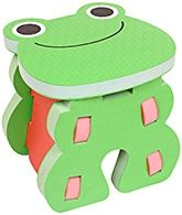 Fab & Funky - Baby Stool With Frog Print