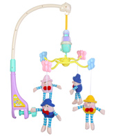 Fab N Funky Musical Cot Mobile - Clown 