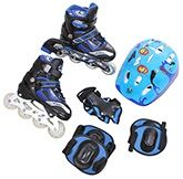 Fab N Funky In Line Skates Set - Lovely Nature 