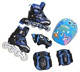 Fab N Funky In Line Skates Set - Blue