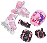 Fab N Funky In Line Skates Set - Butterfly