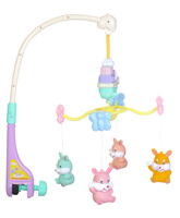 Fab N Funky Musical Cot Mobile - Rabbit