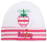 Baby Hug - Baby Cap With Strawberry Design