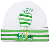 Baby Hug - Baby Cap With Apple Design