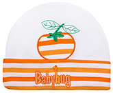 Baby Hug - Baby Cap With Orange Design