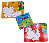 Toysbox - Colour It Wipe It Fruits and Vegetables