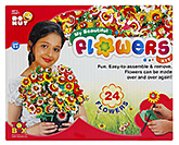 My Beautiful Flowers Kit 5 Years+, Creative Flower Formation Kit