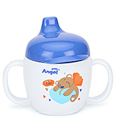 Buy Stony Angel Drinking Cup Rocket Print Blue 200 ml