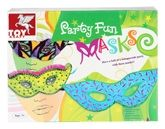 Toy Kraft - Party Fun Masks 7 Years+, Have a ball of a masquerade party with the...