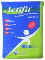 Actifit Premium Adult Briefs - Large