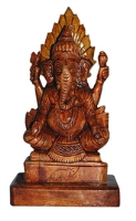 Aanya Creations Sitting Ganesh Idol - WD G 0014