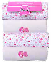 Owen Receiving Blankets - Set of 4  