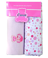 Owen Receiving Blankets - Set of 2