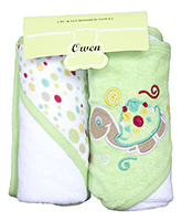 Owen - 2 Piece knit Hooded towel