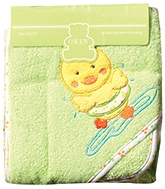 Owen - Hooded Towel With Wash Cloth