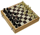 Little India Real Makrana Marble Chess Board Handicraft - DLI3HCF106