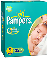 Pampers Diaper Small - 22 Pieces
